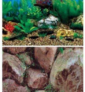 Задний фон для аквариума