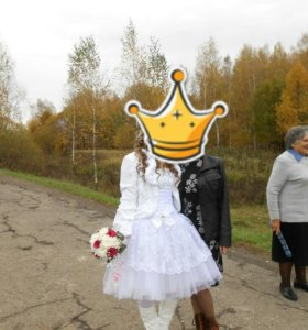 Платье свадпбное