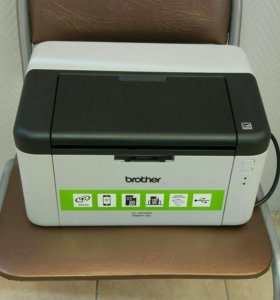 Лазерный принтер с wi-fi brother hl-1210wr