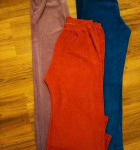 Домашние штанишки велюровые