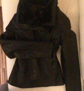 Куртка кожаная RESERVED
