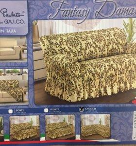 Евросехол на классический угловой диван