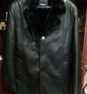 Куртка из натуральной кожи зимняя