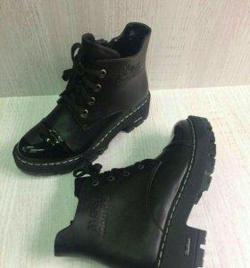 Hermes ботинки осенние