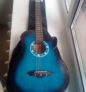 Комплект: Гитара + чехол (новые)