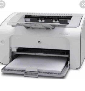 принтер laserjet 1102