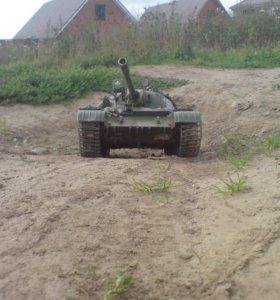 Танк Т-55 на радиоуправлении