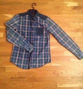 Рубашка pull&bear, р46-48