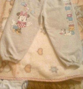 Новые теплые штанишки 104 р
