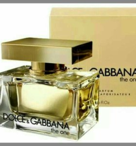 Dolce & Cabbana the one