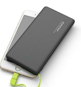 Новый PowerBank 5000mAh с переходником IPhone
