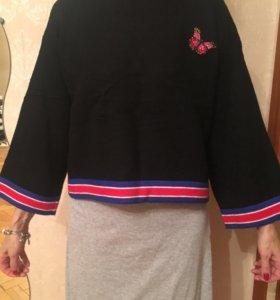 Новая Тёплая кофта / свитшот / свитер