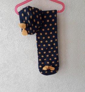 Шапка и шарф 8-9 лет