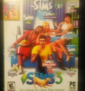 Игра Sims Антология 2-3