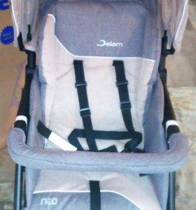 Новая прогулочная коляска Jetem