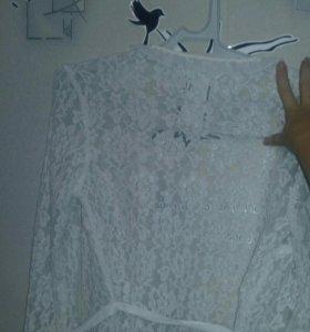Блузка ручной работы
