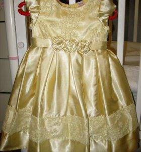 Нарядное платье на рост 98-104 см