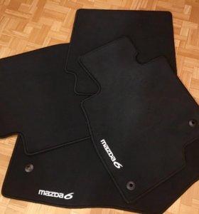 Коврики текстильные Mazda 6