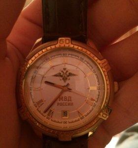 Часы мужские наручные со символикой МВД России