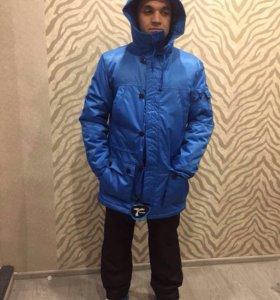 Зимняя куртка тенсон