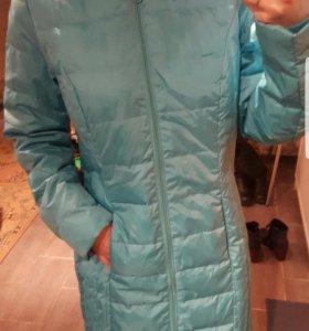 куртка-парка на осень и не холодную  зиму 44-46р