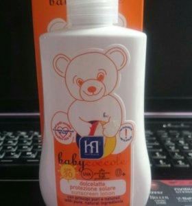 Babycoccole новое молочко солнцезащитное SPF30