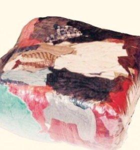 Ветошь, текстиль от 10 кг, нал, безнал