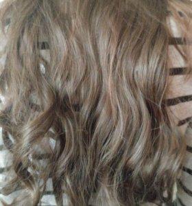 Волосы на леске-резинке