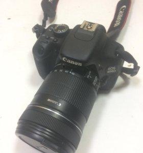 Фотоаппарат Canon 600f