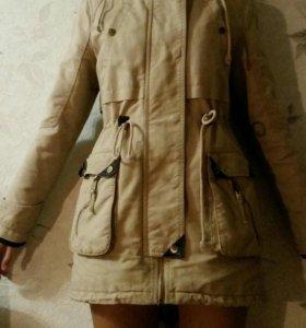 Осенне-зимняя парка , куртка, пальто