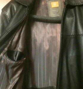 Мужская Кожаная Куртка Gaochen