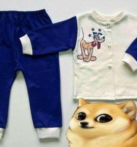 Пижамки,Новые размеры 68, 74,80,92