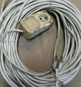 Удлинитель провод ПВС 3×1,5 40 м.