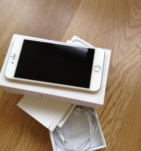 Apple iPhone 6+ 64гига золотой