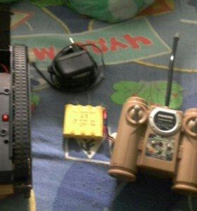 Танк радиоупровляемы