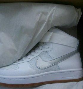 Nike кроссовки кеды белые торг