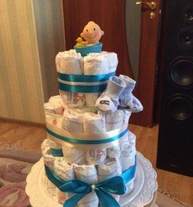 Торт- подарок для ребенка