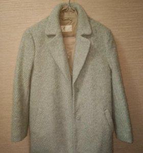 Пальто короткое тёплое
