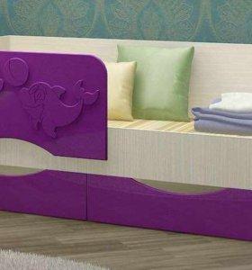 Новая детская кровать со склада