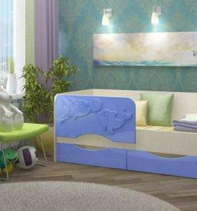 Новая кровать в детскую со склада