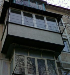 Балкон под ключ.