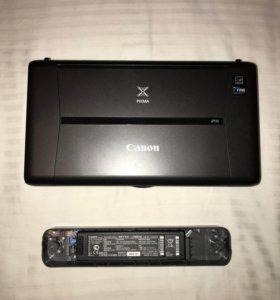 Принтер Canon IP-110 with Battery, A4