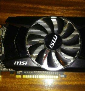 Видеокарта msi nvidia gtx 750 1 gb