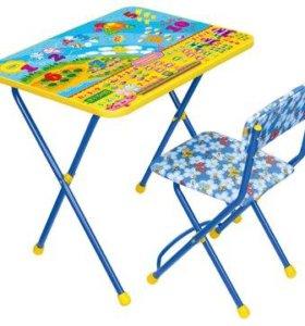 Столик и стульчик цифры