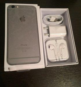 iPhone 6 16gb space gray, original, новый
