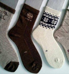 100% шерстяные носки