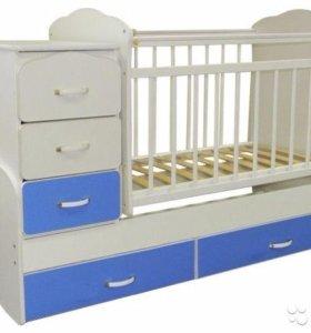 Кровать - трансформер для детей