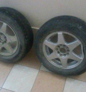 2 колеса на 14