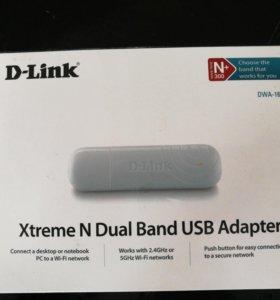 D-link DWA-160 USB Wi-Fi карта