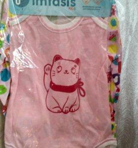Новая Детская одежда до 1 года.